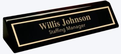Engraved Tags, Brass Plate Engraving, Plastic Tags, Name